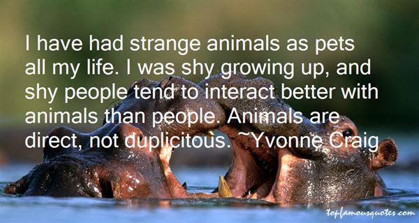Yvonne Craig Quotes