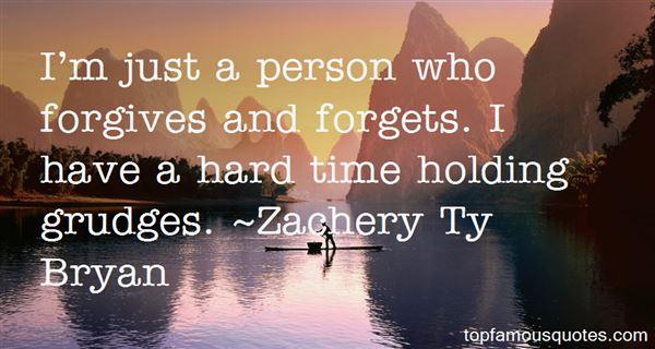 Zachery Ty Bryan Quotes