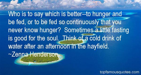 Zenna Henderson Quotes