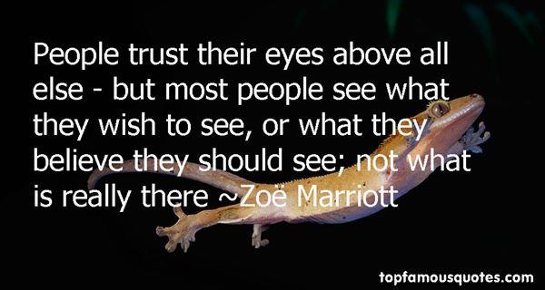Zoë Marriott Quotes