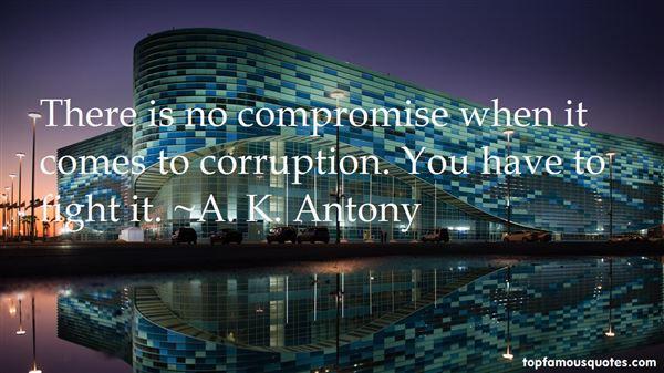 A. K. Antony Quotes
