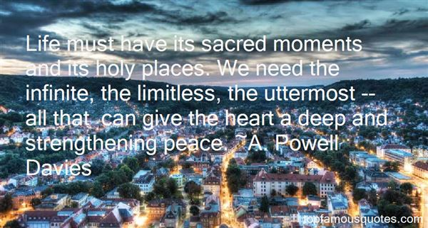 A. Powell Davies Quotes