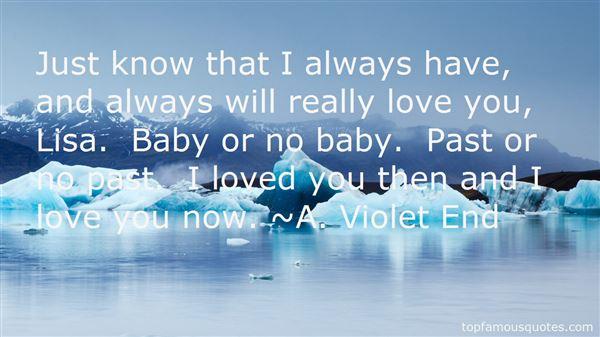 A. Violet End Quotes
