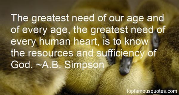 A.B. Simpson Quotes