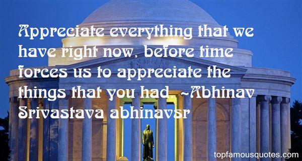 Abhinav Srivastava Abhinavsr Quotes