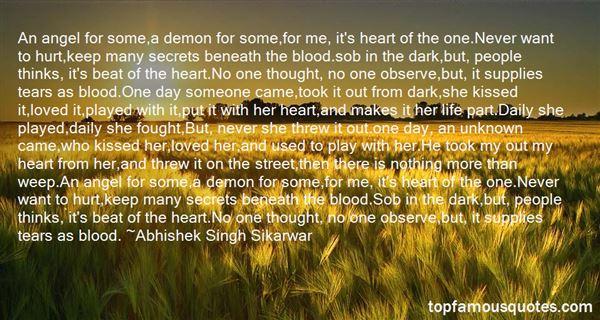 Abhishek Singh Sikarwar Quotes
