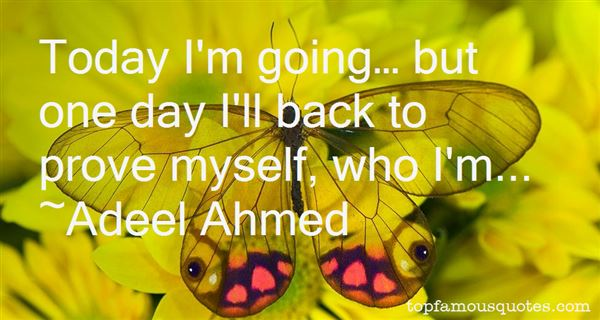 Adeel Ahmed Quotes