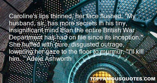 Adele Ashworth Quotes