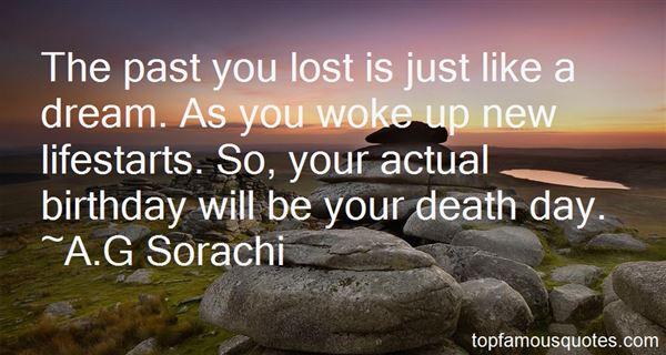 A.G Sorachi Quotes