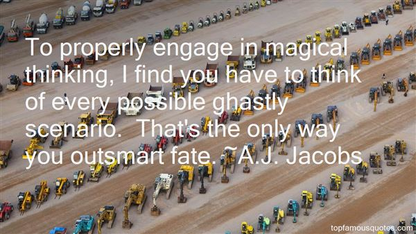 A.J. Jacobs Quotes