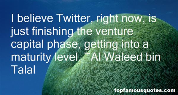 Al Waleed Bin Talal Quotes