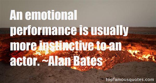 Alan Bates Quotes
