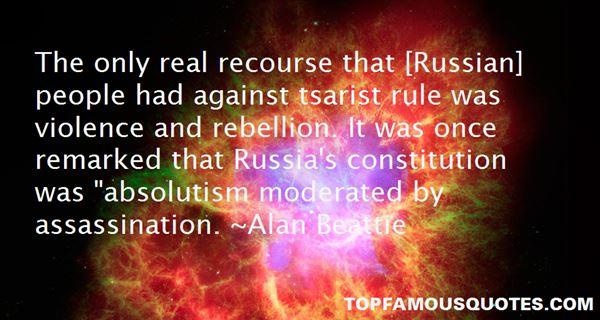 Alan Beattie Quotes
