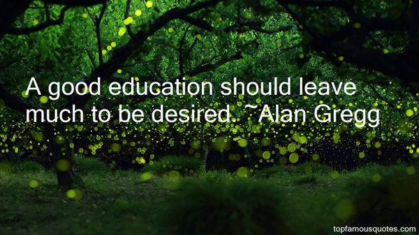 Alan Gregg Quotes