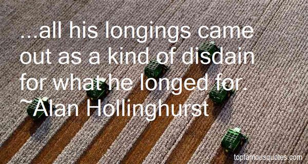Alan Hollinghurst Quotes