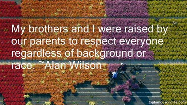 Alan Wilson Quotes