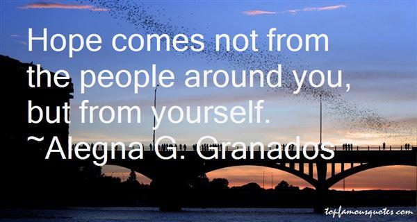Alegna G. Granados Quotes
