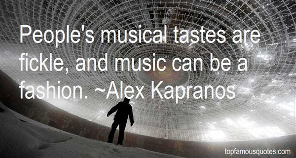 Alex Kapranos Quotes