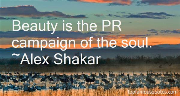 Alex Shakar Quotes
