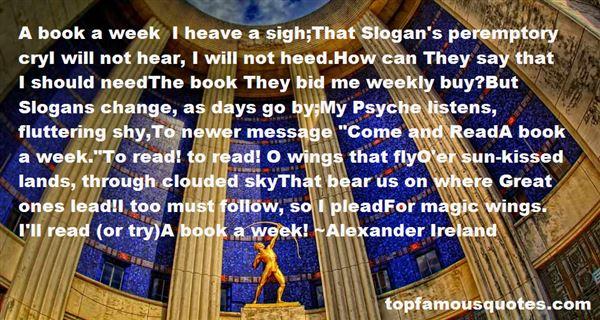 Alexander Ireland Quotes