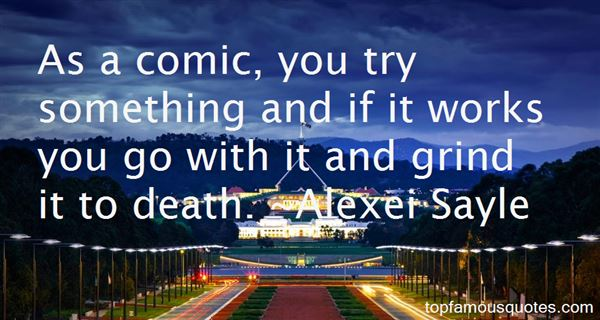 Alexei Sayle Quotes