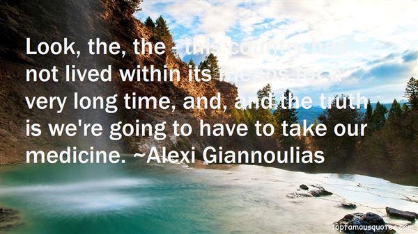 Alexi Giannoulias Quotes