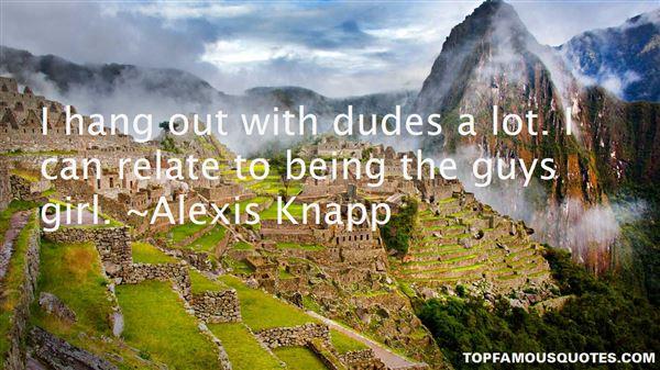 Alexis Knapp Quotes