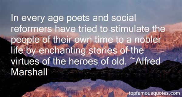 Alfred Marshall Quotes