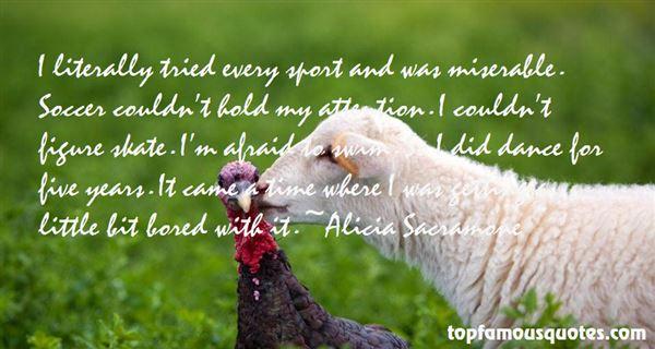 Alicia Sacramone Quotes