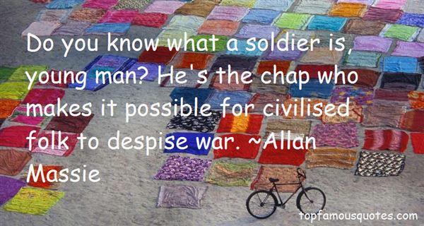 Allan Massie Quotes