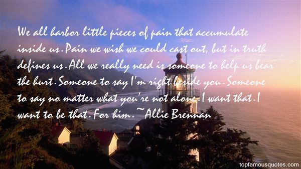 Allie Brennan Quotes