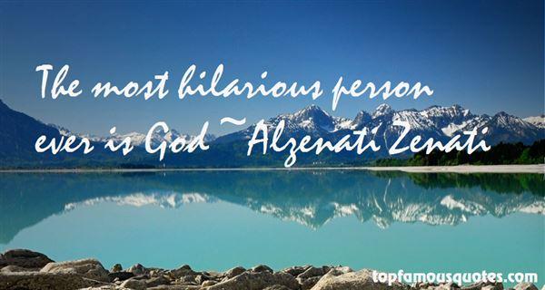 Alzenati Zenati Quotes