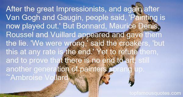 Ambroise Vollard Quotes