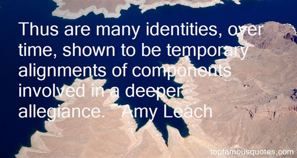 Amy Leach Quotes