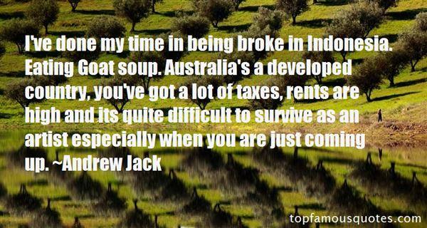 Andrew Jack Quotes