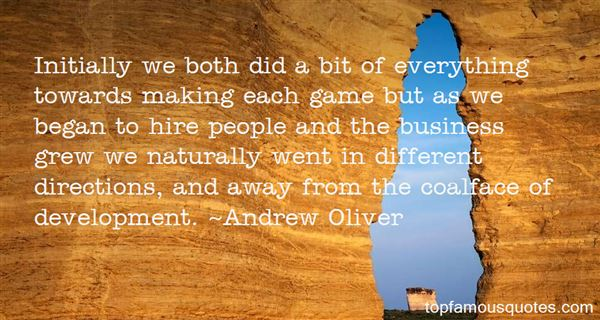 Andrew Oliver Quotes