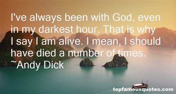 Andy Dick Quotes