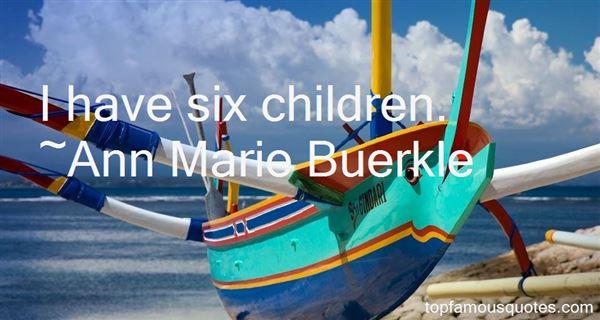 Ann Marie Buerkle Quotes