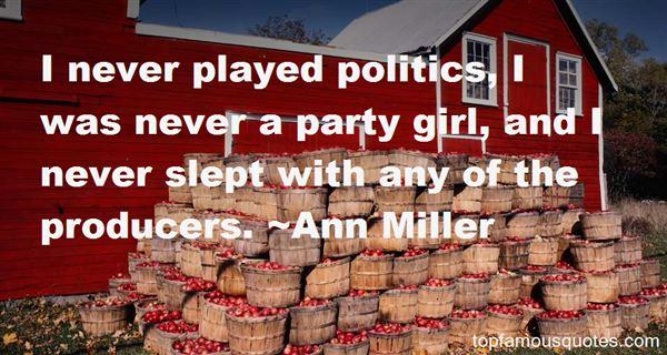 Ann Miller Quotes
