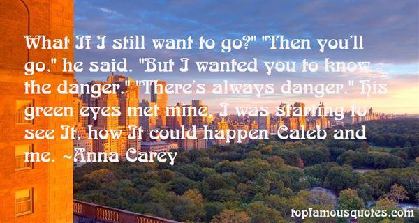 Anna Carey Quotes