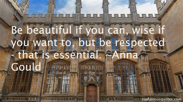 Anna Gould Quotes