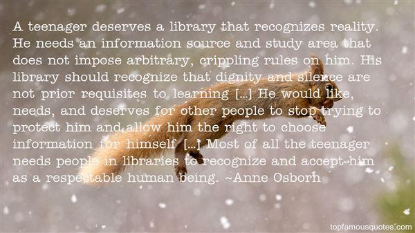 Anne Osborn Quotes