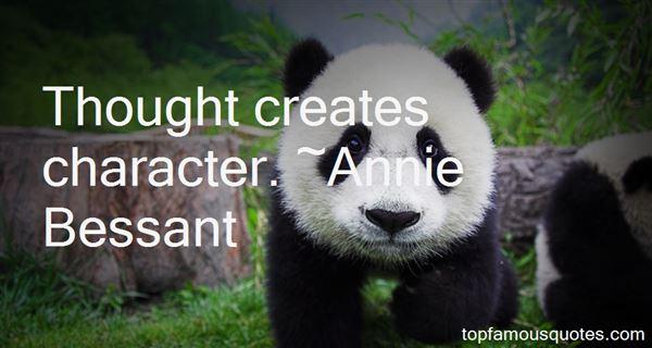Annie Bessant Quotes