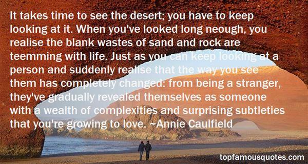 Annie Caulfield Quotes