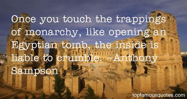 Anthony Sampson Quotes