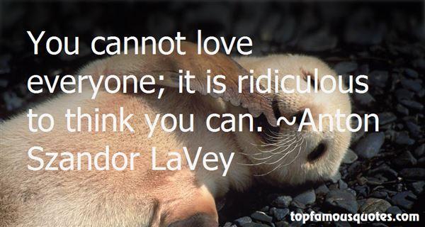 Anton Szandor LaVey Quotes