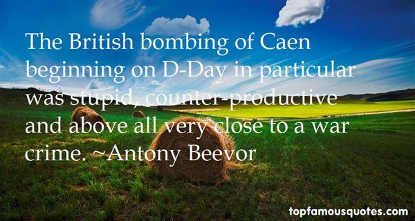 Antony Beevor Quotes