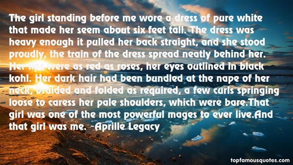 Aprille Legacy Quotes