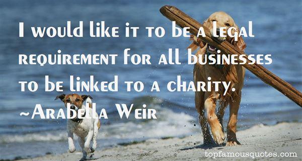 Arabella Weir Quotes