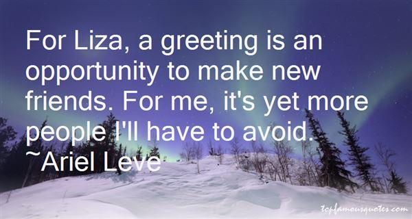 Ariel Leve Quotes